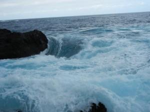 Das Meer und Felsen